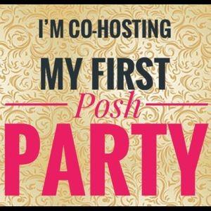 I'm Co-Hosting My 1st PoshParty 2/28/19